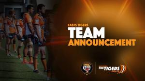 Tigers - Team Announcement