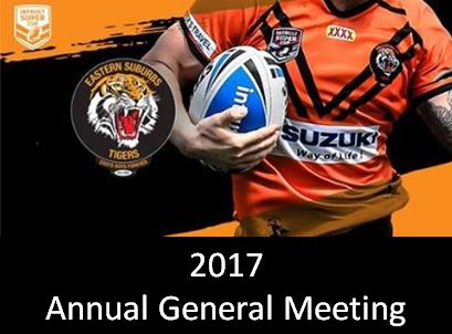 2017 ANNUAL GENERAL MEETING