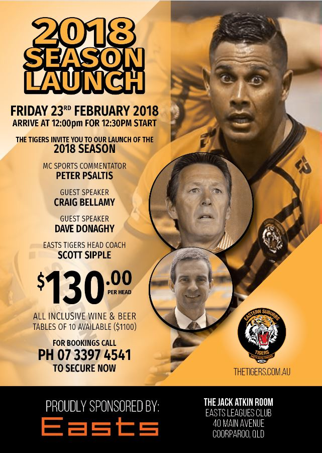 2018 SEASON LAUNCH