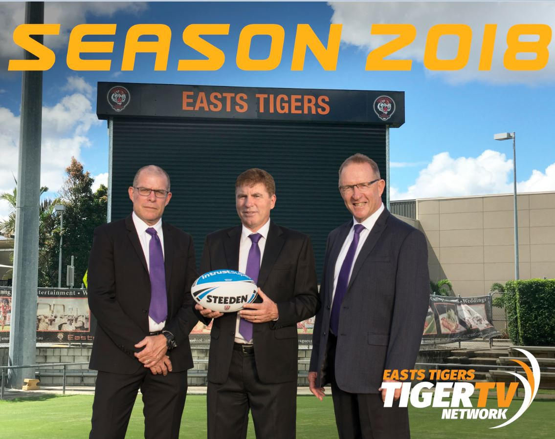 TRIO TO HEAD TIGER TV IN 2018