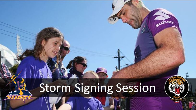 STORM SIGNING & PHOTO SESSION