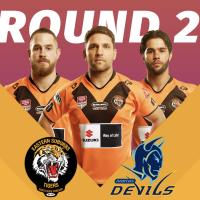 Round 2 Devils V Tigers result