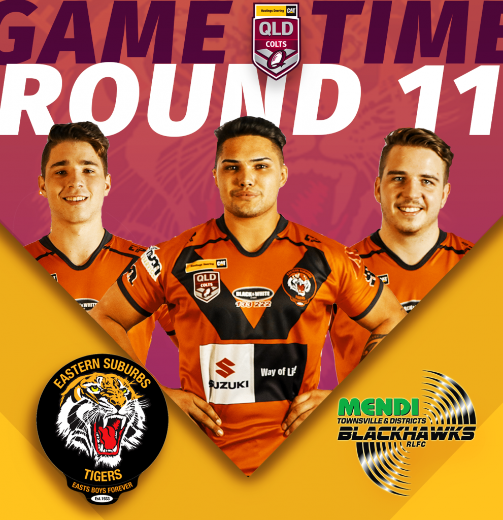 Hastings Deering Colts Round 11 Suzuki Easts Tigers v Townsville Blackhawks