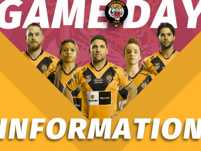 Suzuki Easts Tigers Game Information