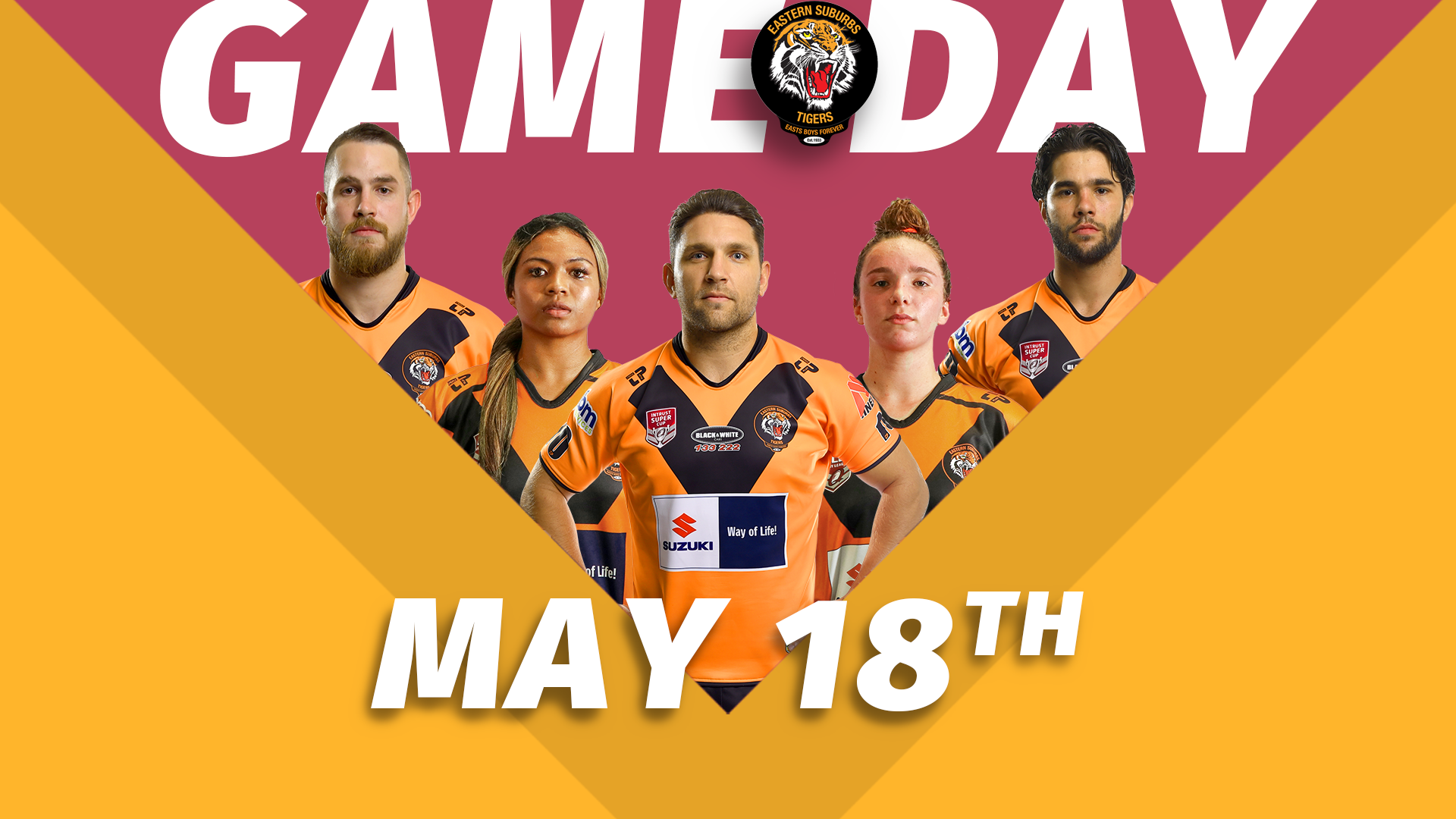 Game Day May 18th 2019