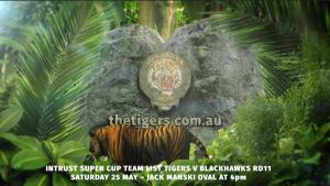 Intrust Super Cup Round 11 Suzuki Easts Tigers v Townsville Blackhawks
