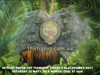 Intrust Super Cup Round 11 Suzuki Easts Tigers v Townsville Blackhawks
