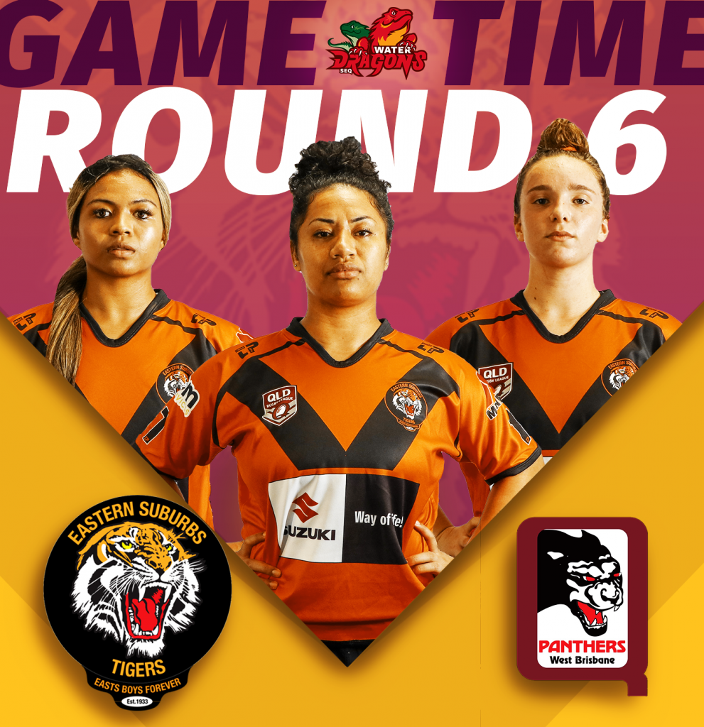 Womens Round 6 Easts Tigers v Wests Panthers
