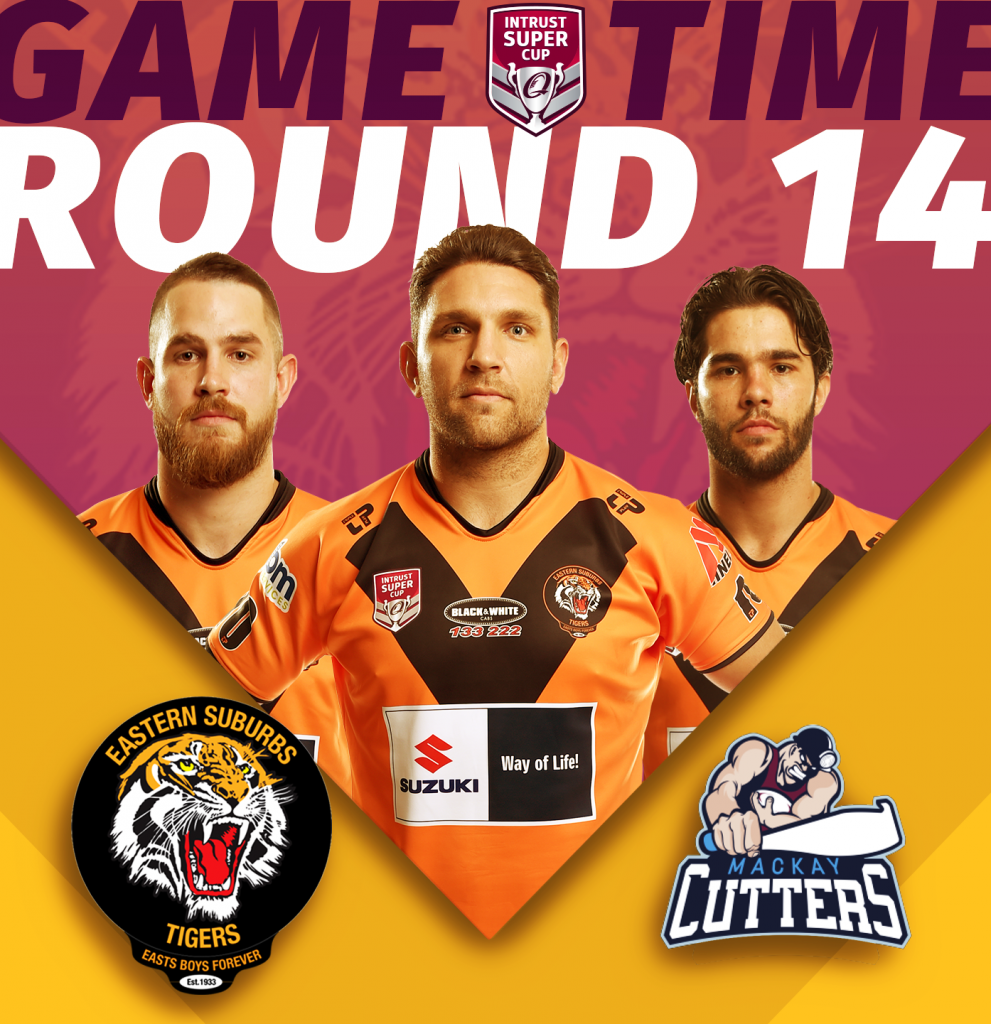 Intrust Super Cup Suzuki Easts Tigers versus Mackay Cutters