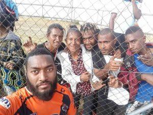 Photo by Añnie Dilzscar Jâćkż Rd 18 Country Week PNG Hunters V Suzuki Easts Tigers in Wabag
