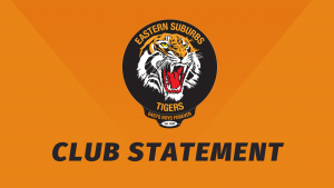 Suzuki Easts Tigers Club Statement
