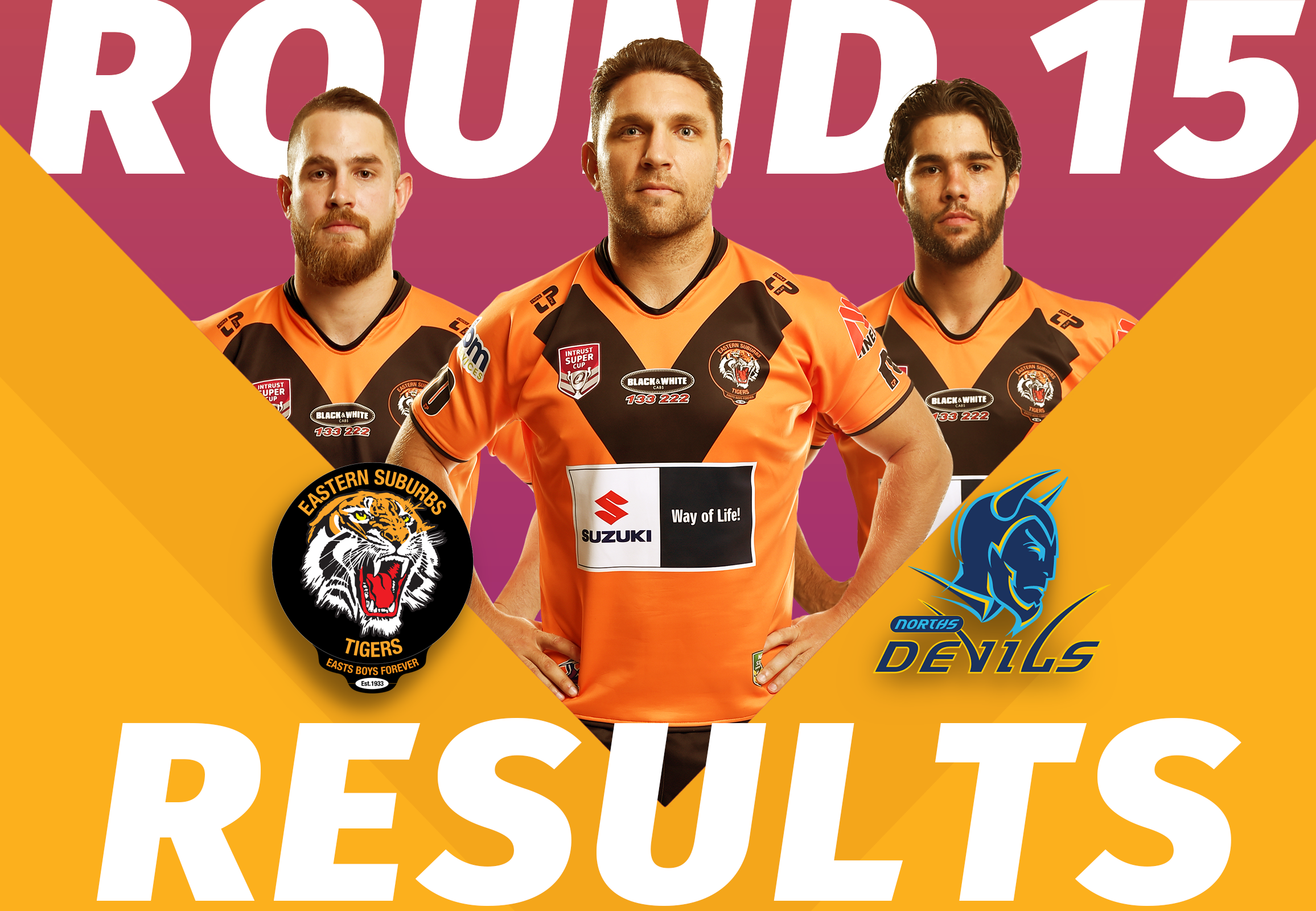 Round Intrust Super Cup Game Day Results