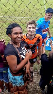 Photo by Pamex Meselia Rd 18 Country Week PNG Hunters V Suzuki Easts Tigers in Wabag