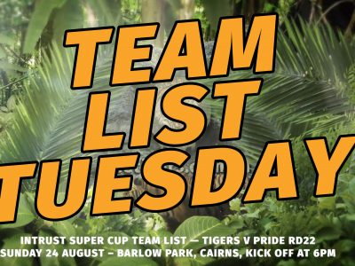 Team List Rd 22
