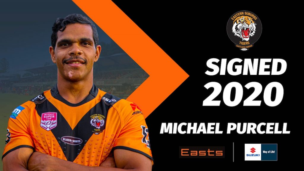 Michael Purcell signs with Easts Tigers