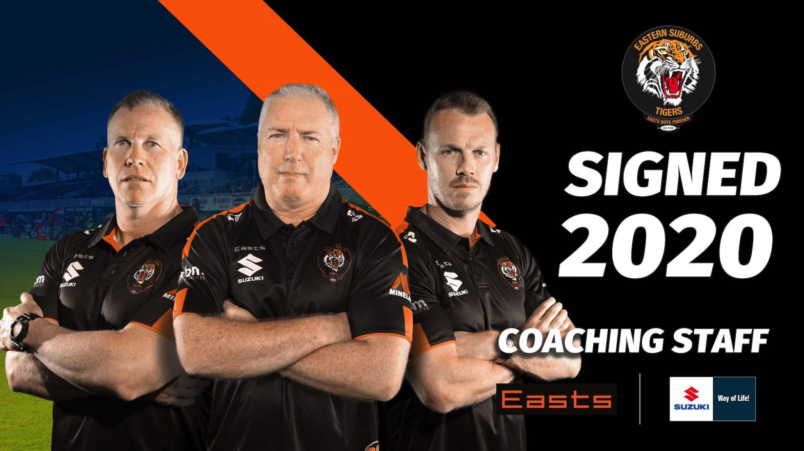 Coaching staff 2020