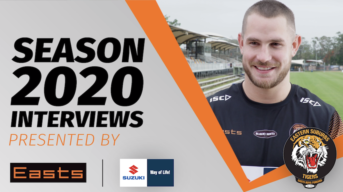 Eastern Suburbs Tigers Lock Jack Svendsen Interview season 2020