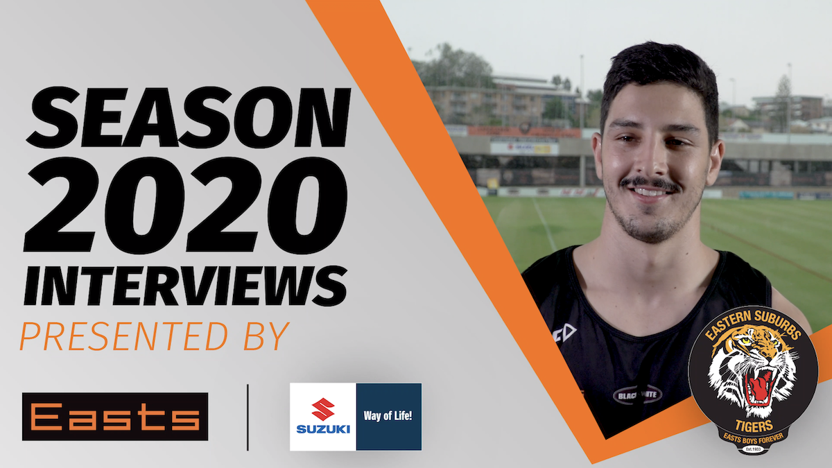 Easts Tigers Player Zak Taibi Interview - Season 2020