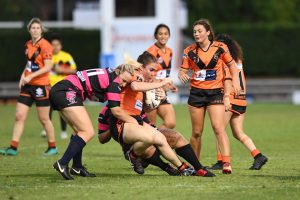 Easts Tigers womens rugby league competition