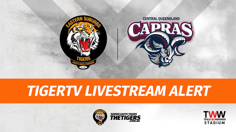 TigerTV Livestream alert 15 March 2020 Hastings Deering Colts Mal Meninga Cup Intrust Super Cup