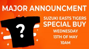 Major Announcement as Special Buys now available at Suzuki Easts Tigers