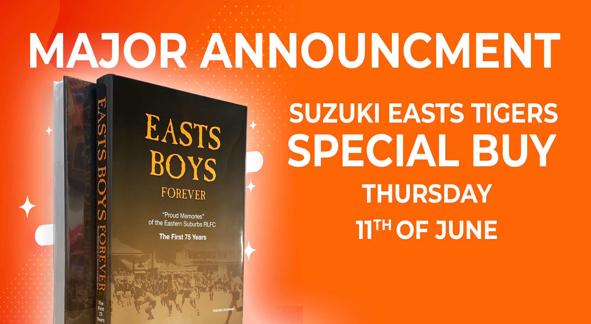 Special Buy: Easts Boys Forever Book