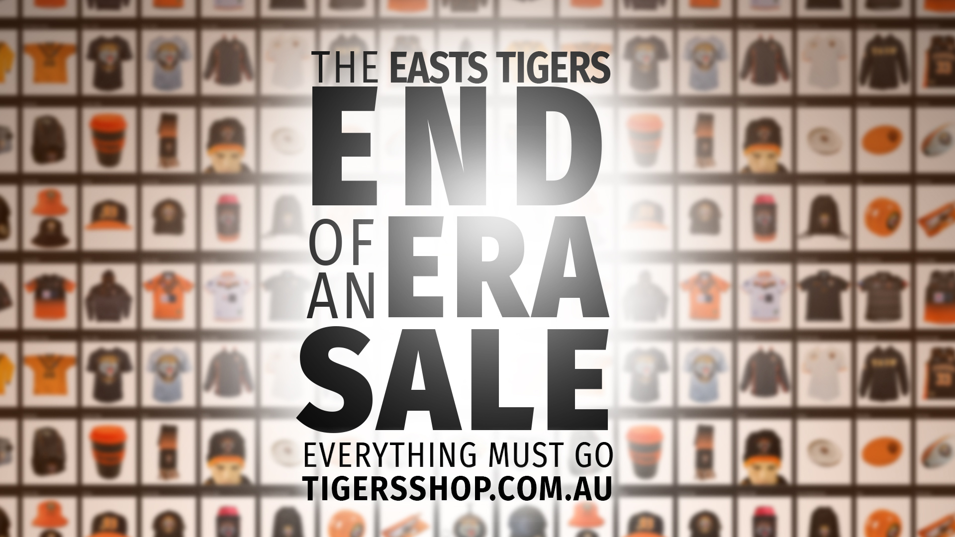 An End of an Era Sale