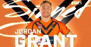 Jordan Grant Signs with Brisbane easts tigers