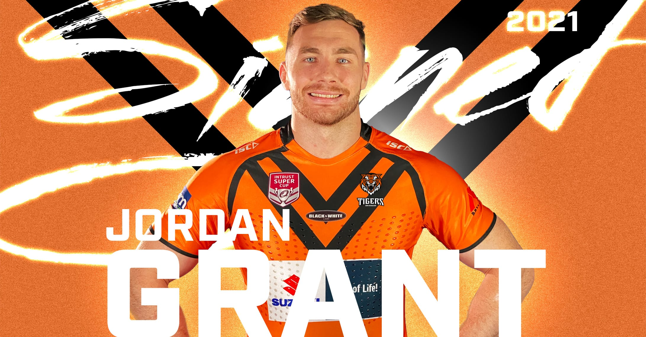 Jordan Grant Signs with Brisbane easts tigers
